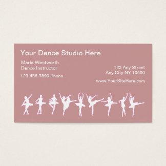 413 dance studio business cards and dance studio business for Dance business cards
