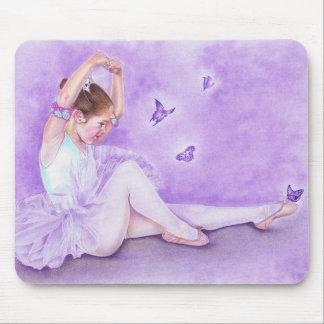 Ballet de Papillon Mousepad