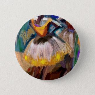 Ballet - Dega 6 Cm Round Badge