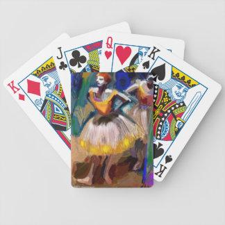 Ballet - Dega Bicycle Playing Cards