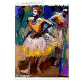 Ballet - Dega Card