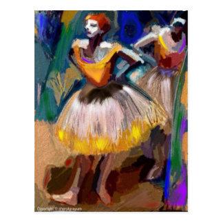 Ballet - Dega Postcard