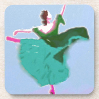 Ballet Dress Art Coaster