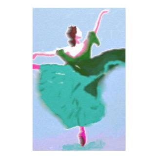 Ballet Dress Art Custom Stationery