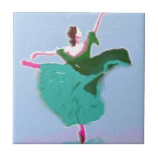 Ballet Dress Art Tile