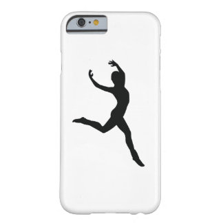Ballet Elegant Dancing Black Silhouette Barely There iPhone 6 Case