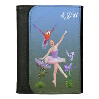 Ballet Fantasy, Flowers, Butterfly, Monogram Wallets