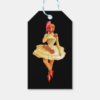 Ballet Hen Gift Tags
