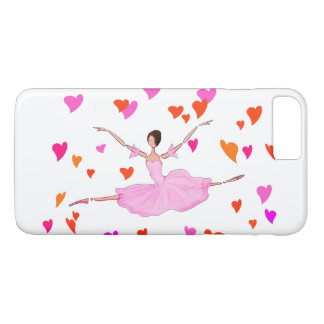 BALLET IPHONE COVER, BALLERINA JUMPING GRAND JETE iPhone 7 PLUS CASE