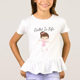 Ballet Is Life Ballerina Dancer T-Shirt