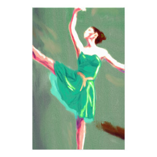 Ballet Love Art Stationery