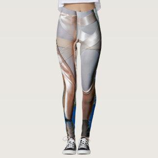 Ballet Metallic Leggings