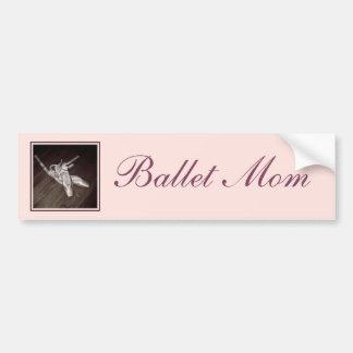 'Ballet Mom' Bumper Sticker