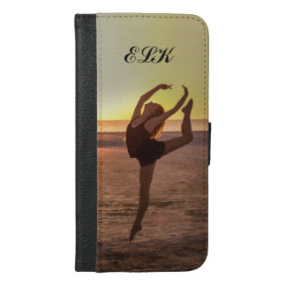 Ballet on the Beach iPhone 6/6s Plus Wallet Case