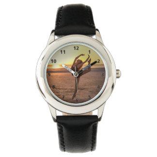 Ballet on the Beach Wristwatch