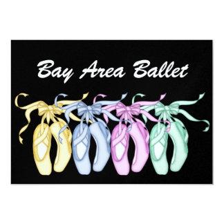 Ballet Party / Performance 13 Cm X 18 Cm Invitation Card