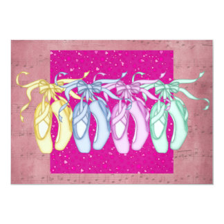 Ballet Party / Performance 5x7 Paper Invitation Card
