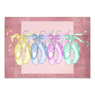 Ballet Party / Performance Personalized Announcement