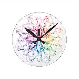 Ballet Pattern (spectral) clock
