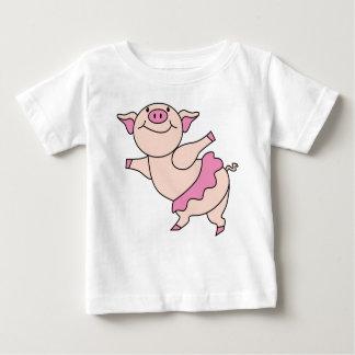Ballet Pig Baby T-Shirt