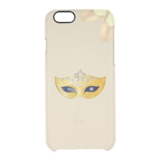Ballet Pointe Shoes and Opera Golden Mask Clear iPhone 6/6S Case