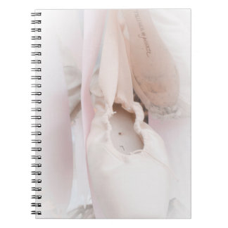 Ballet Pointe Spiral Notebook