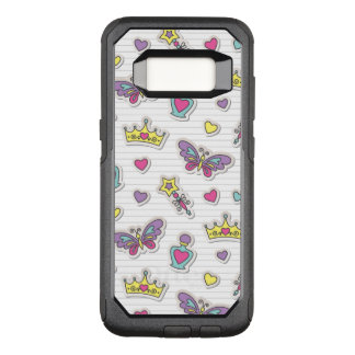 ballet princess pattern OtterBox commuter samsung galaxy s8 case