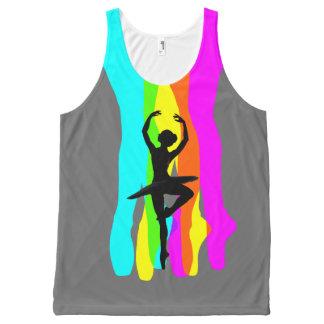 Ballet Rainbow Custom All-Over Print Singlet