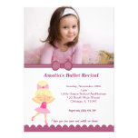 Ballet Recital Personalised Announcements