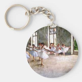 Ballet Rehearsal Key Ring