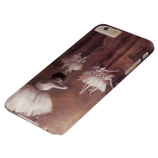 Ballet Rehearsal on the Stage by Edgar Degas Barely There iPhone 6 Plus Case