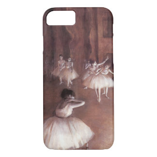 Ballet Rehearsal on the Stage by Edgar Degas iPhone 8/7 Case