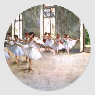 Ballet Rehearsal Stickers