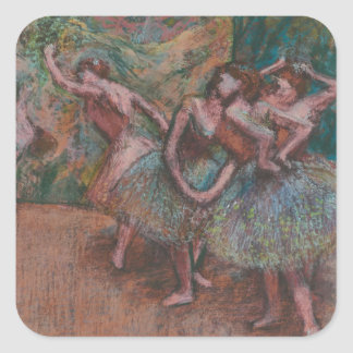 Ballet Scene Square Sticker