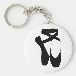 Ballet Shoes Key Ring