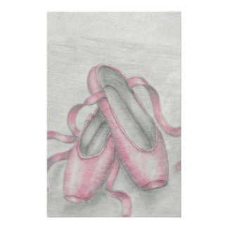 ballet shoes stationery