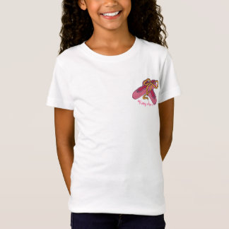 Ballet Shoes with Name T-Shirt