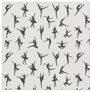 Ballet Silhouettes Fabric