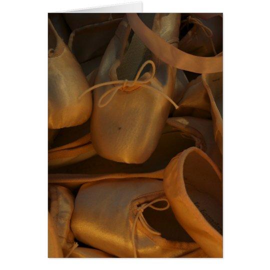 Ballet Slippers II Card