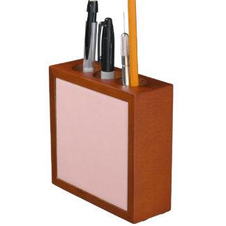 Ballet Slippers Pink Solid Color Desk Organiser