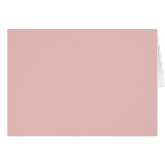 Ballet Slippers Pink Solid Colour Card