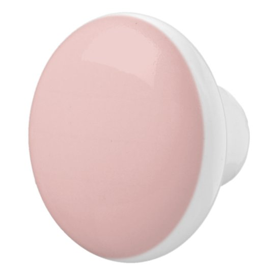 Ballet Slippers Pink Solid Colour Ceramic Knob