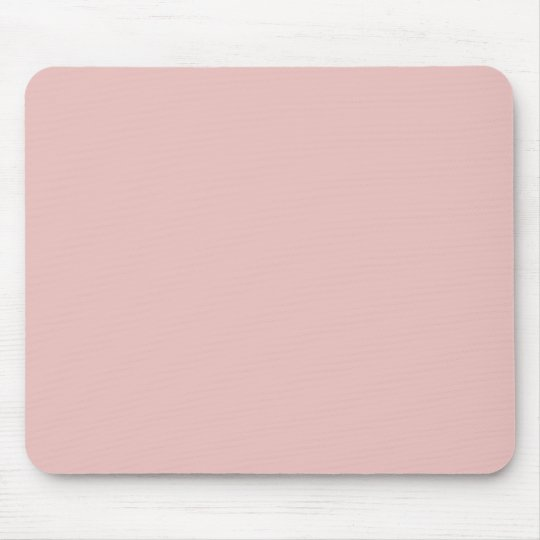 Ballet Slippers Pink Solid Colour Mouse Pad