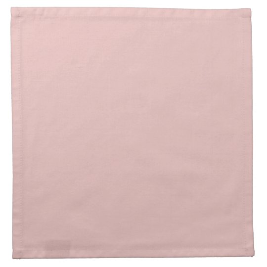 Ballet Slippers Pink Solid Colour Napkin