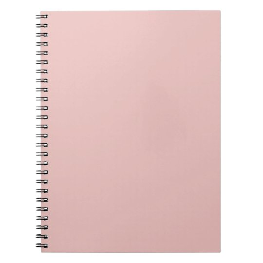 Ballet Slippers Pink Solid Colour Notebooks