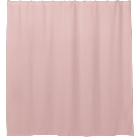 Ballet Slippers Pink Solid Colour Shower Curtain