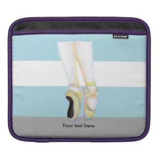 Ballet Slippers Shoes iPad Sleeve