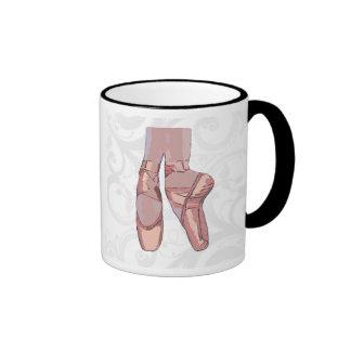 Ballet Slippers Toe Shoes Coffee Mug