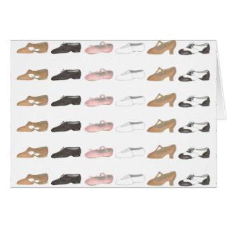 Ballet Tap Jazz Acro Lyrical Dance Shoes Card