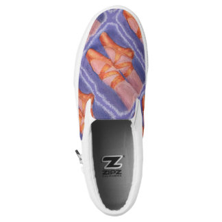 BALLET TOE SHOES PRINTED SHOES